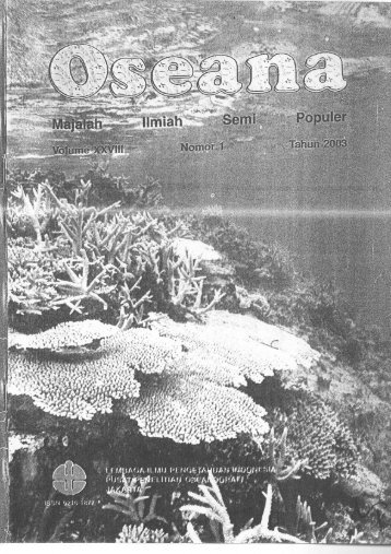 Page 1 Page 2 Oseana, Volume XXVIII, Nomor 1, 2003 : 33 -38 ...