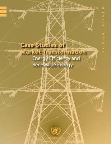 Case Studies of Market Transformation - United Nations Sustainable ...