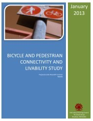 2012 Bicycle and Pedestrian Connectivity Study - Old Colony ...