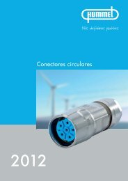 Conectores de potência M 23 / Receptáculo - Hummel AG