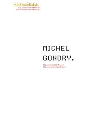 michel gondry. - Multimedialab