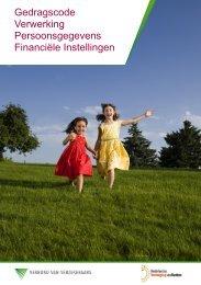 Gedragscode Verwerking Persoonsgegevens Financiële Instellingen