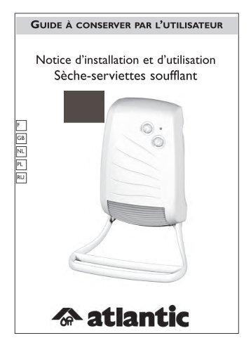 installation de l'appareil - Atlantic-comfort.com
