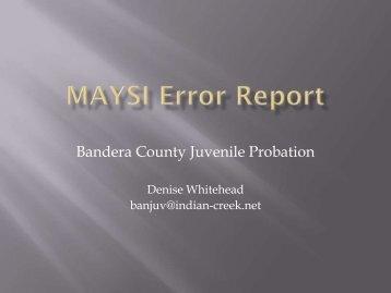 Bandera County Juvenile Probation