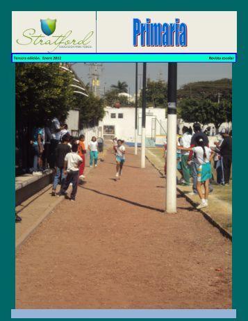 Tercera edición. Enero 2012 Revista escolar - Stratford