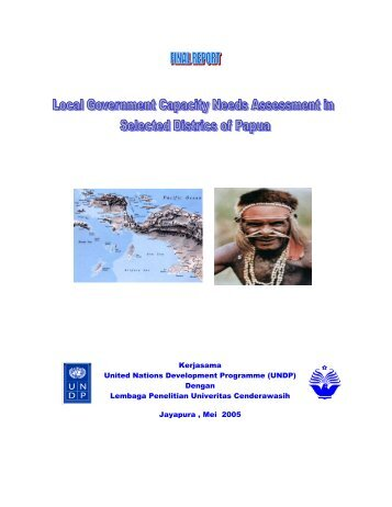 Kerjasama United Nations Development Programme (UNDP ...