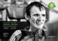 Raport Anual 2012 - HOSPICE Casa Sperantei