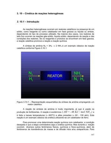 Cinética de Reações Heterogêneas - peq / coppe / ufrj