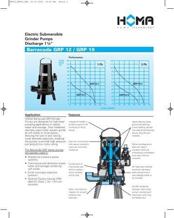 Technical Data Technische - Homa Pump Wiring Diagram
