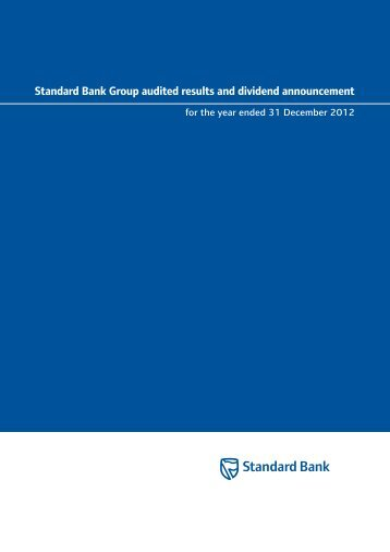 Download PDF - Standard Bank - Investor Relations