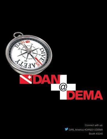 Download the DAN@DEMA brochure here. - Divers Alert Network