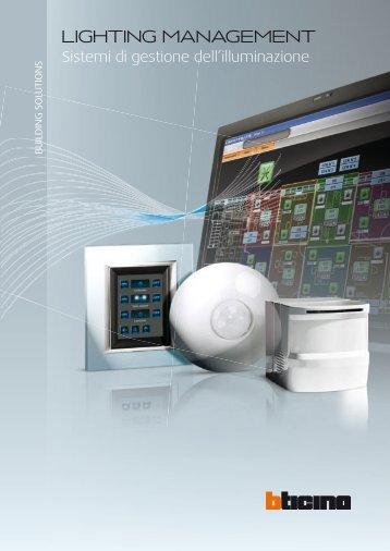 Sistemi di gestione dell'illuminazione - Professionisti BTicino