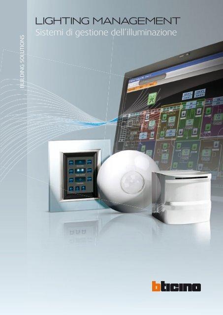 Sistemi di gestione dell 39 illuminazione professionisti for Sistemi di illuminazione