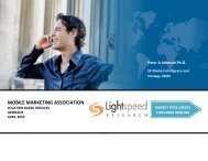 Based Services - Mobile Marketing Association