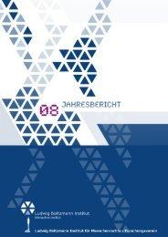 Jahresbericht 2008 - Ludwig Boltzmann Institut für Menschenrechte ...