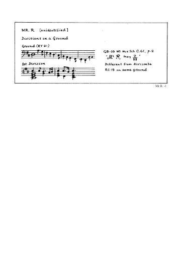 R - Viola da Gamba Society