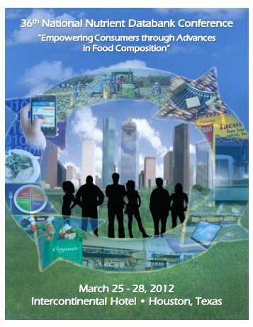 Program Book - National Nutrient Databank Conference