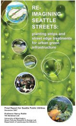 Reimaging Seattle City Streets - Green Futures Lab - University of ...