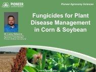 Fungicide Treatments for Better Crop Management - South Dakota ...