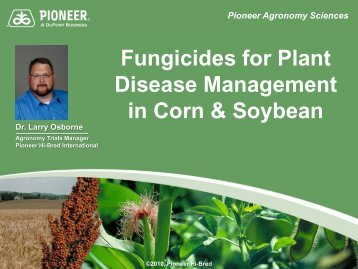 Fungicide Treatments for Better Crop Management - South Dakota ...