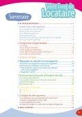 Tout savoir sur vos droits et vos devoirs de locataire - Habitat du Gard - Page 3