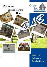 Bau - Grote Bau GmbH & Co. KG