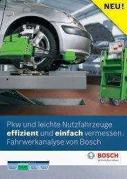 Fahrwerkanalyse von Bosch - Bosch - Werkstattportal