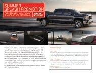 GMC Summer Splash Promotion