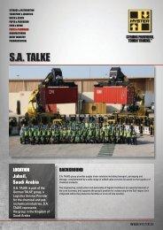 S.A. TALKE Case Study PDF