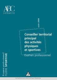 Conseiller territorial principal des activités physiques et ... - Cdg68.fr