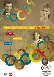 Télécharger le guide 2013 - Chambre de métiers et de l'artisanat