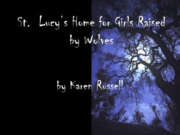 St. Lucy's School for Girls Raised by Wolves - Hoover City Schools