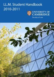 the download - Faculty of Law - University of Cambridge