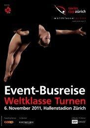 Event-Busreise - Swiss Cup Zürich