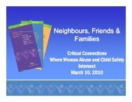 Neighbours, Friends and Families