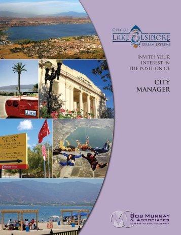 CITY MANAGER - Bob Murray & Associates