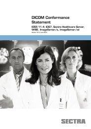 DICOM Conformance Statement - Sectra