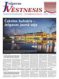 2012.gada 15.novembris Nr.46(282) - Jelgavas Vēstnesis