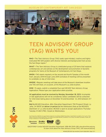 Tag Advisory Group 100