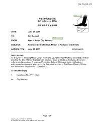 Report - Watsonville California
