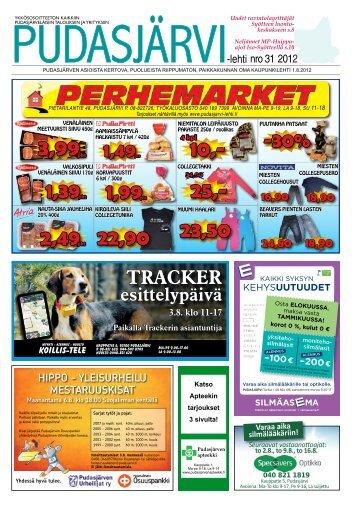 Pudasjarvilehti-31-2.. - Pudasjärvi-lehti ja VKK-Media Oy