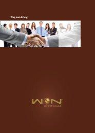 Weg zum Erfolg - WoN - World of Network