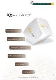 iQ;News XMAS 2011 - Intelligent Data Systems