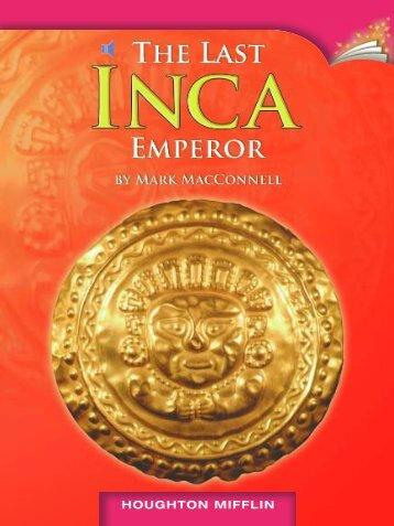 Lesson 7:The Last Inca Emperor