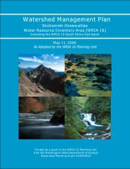 Watershed Management Plan - Mason County
