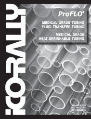 ProFLO - Medical Grade / Fluid Transfer Tubing - FULL ... - ICO Rally