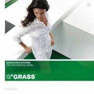 Bewegungs-systeme für hochwertige Möbel - Grass