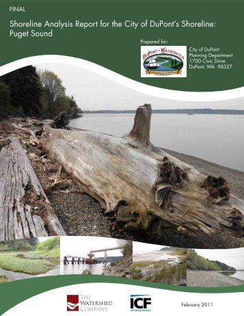 Shoreline Analysis Report - Washington State Department of Ecology