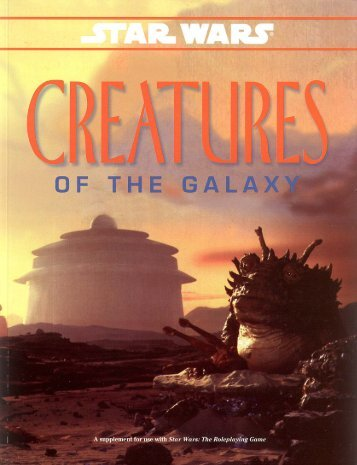 WEG40080 – Creatures of the Galaxy - Speed-Freak