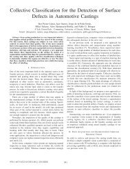 Collective Classification for the Detection of Surface Defects in ...
